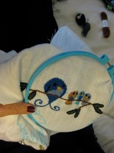 crewel crewel yarn embroidery