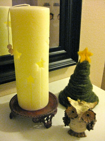 felt stacking tree