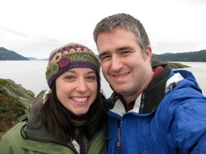 Celebrating our 3rd anniversary on Orcas Island.